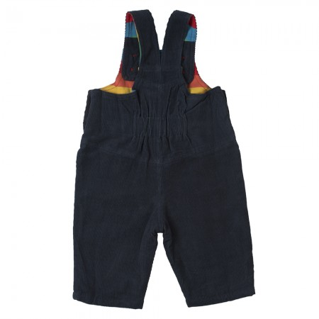 Frugi Navy/Rainbow Dylan Dungarees
