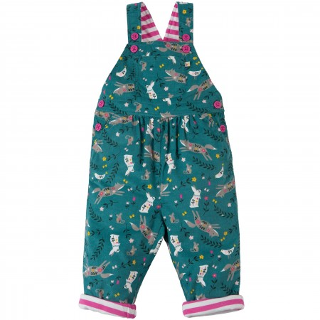 Frugi Alpine Friends Cord Dungarees
