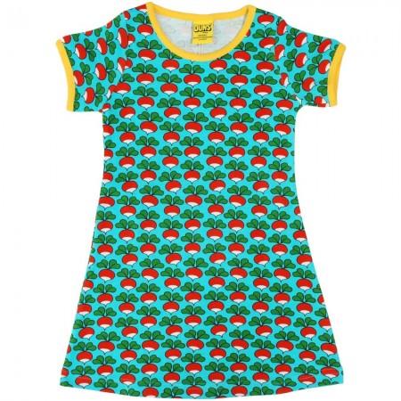 DUNS Adult Radish Turquoise A-Line SS Dress