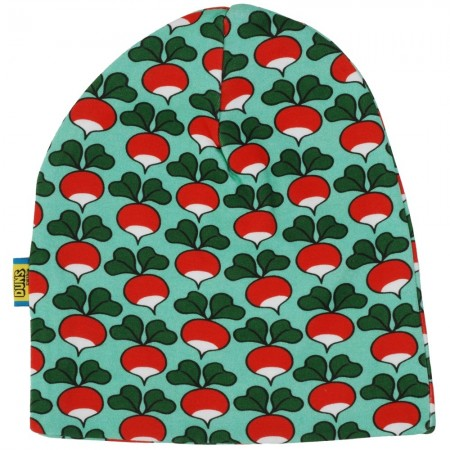 DUNS Dark Jade Radish Double Layer Hat