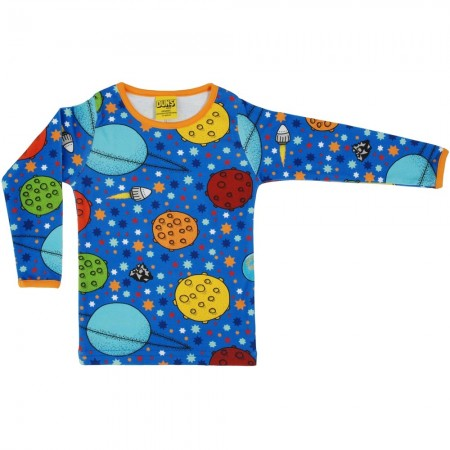 DUNS Adult Blue Lost In Space LS Top