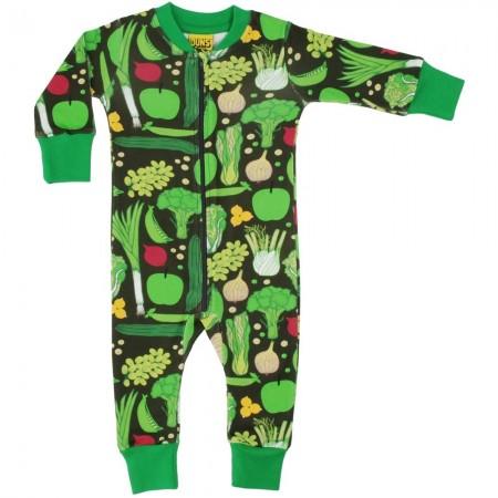DUNS Eat Your Greens LS Zip Suit