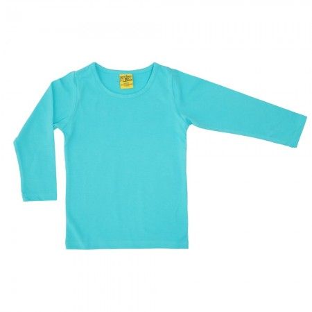 DUNS Light Turquoise LS Top