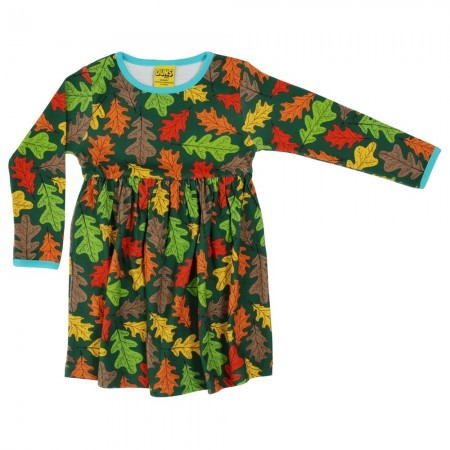 DUNS Adult Oak LS Gathered Dress
