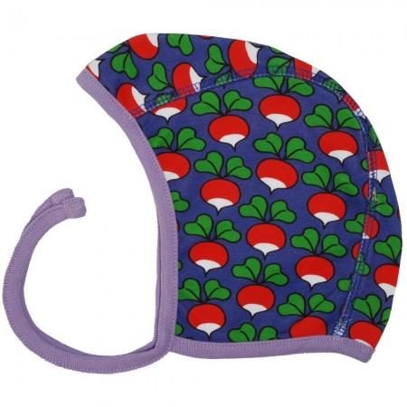 DUNS Purple Radish Baby Bonnet