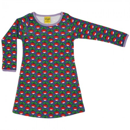 DUNS Purple Radish LS Basic Dress