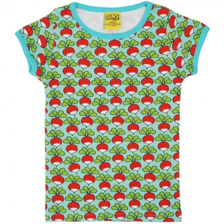 DUNS Pale Turquoise Radish SS Top