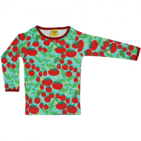 DUNS Adult Turquoise Growing Tomatoes LS Top