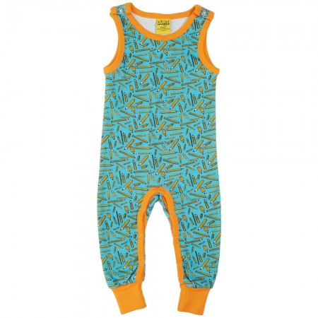 DUNS Turquoise Pencils Dungarees