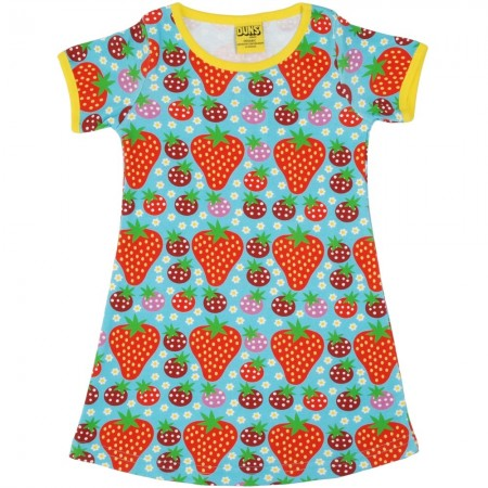 DUNS Turquoise Strawberry Field SS Dress