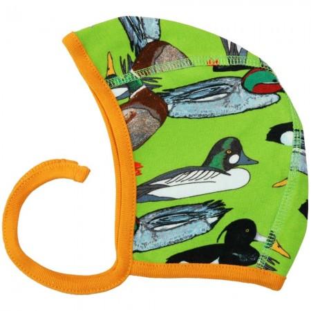 DUNS Flash Green Duck Pond Baby Bonnet