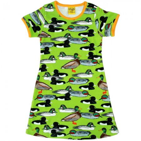DUNS Flash Green Duck Pond SS Dress