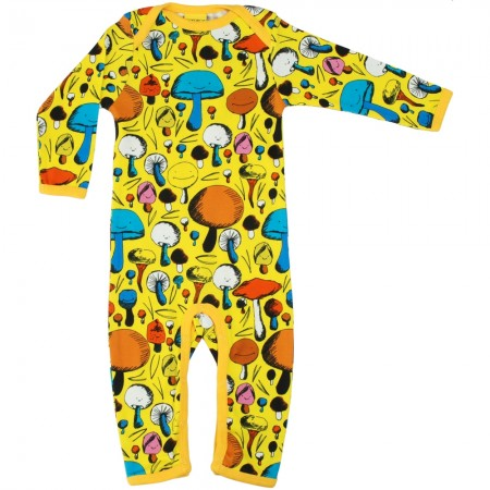 DUNS Yellow Mushroom Long Sleeve Suit