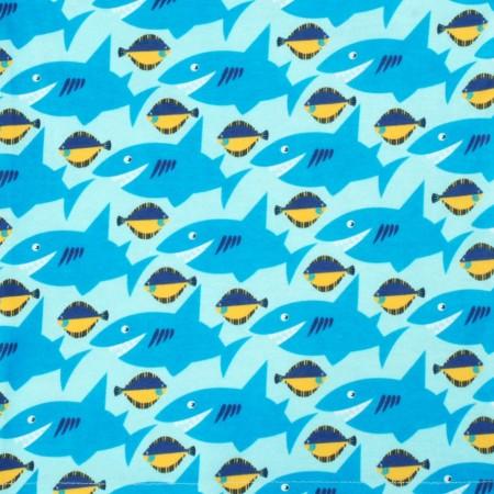 DUNS Light Blue Sharky Sun Hat