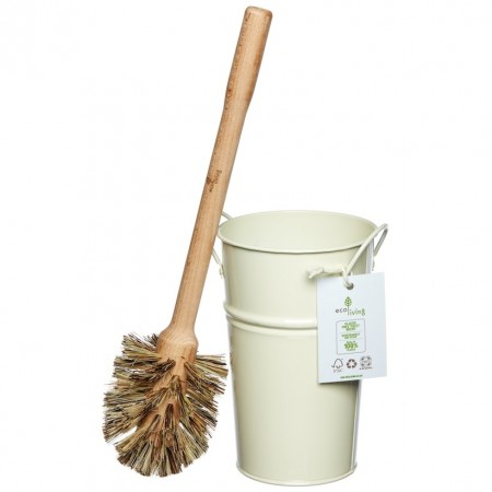 Ecoliving Toilet Brush & Holder