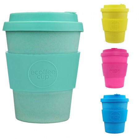 Ecoffee Cup 12oz Bamboo Coffee Cup - Colours