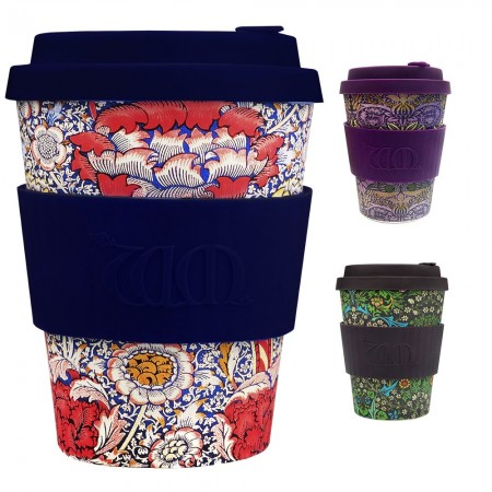 Ecoffee Cup 12oz William Morris Coffee Cup