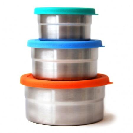 ECOlunchbox Seal Cup Trio - 20oz, 12oz, 7oz