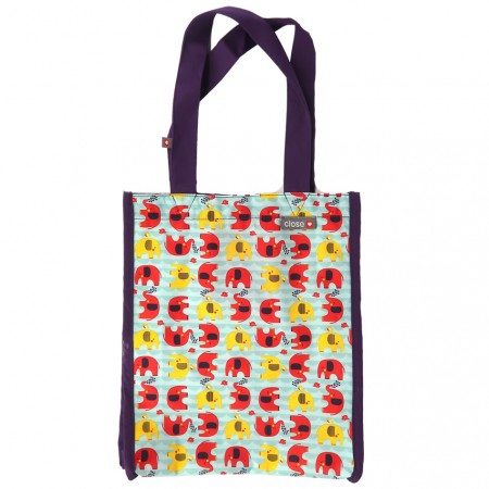 Pop-in Babipur Elephant Small Tote Bag
