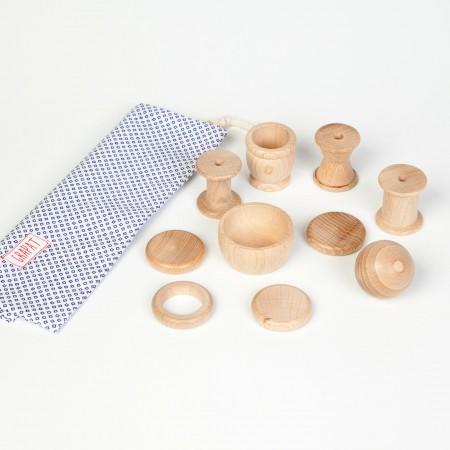 Grapat 10 Element Treasure Basket