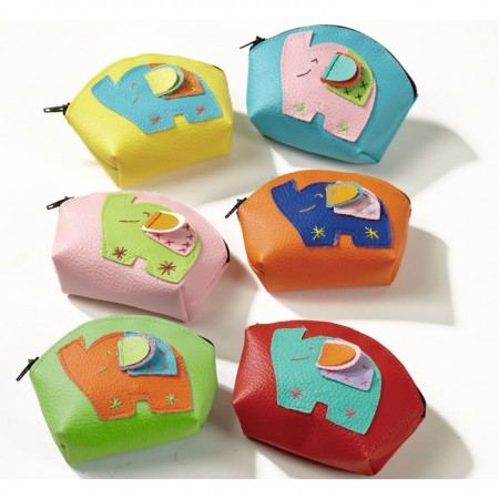Namaste Multicolour Elephant Purses