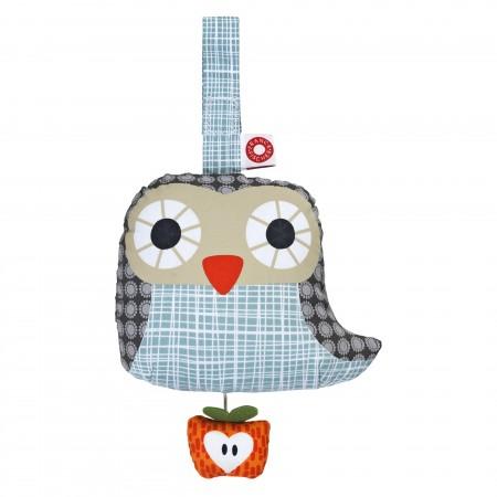 Franck Fischer Else Grey Musical Owl Pull