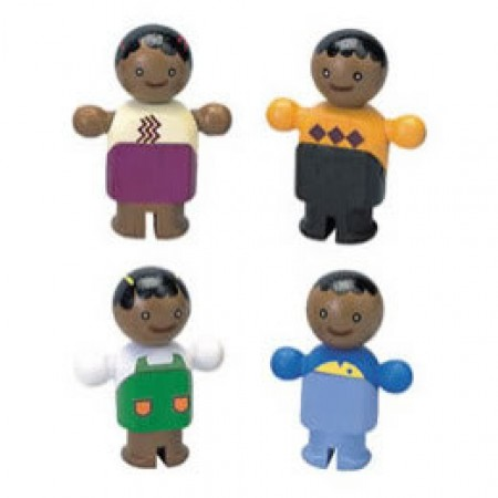 City - Plan Toys Ethnic City Family