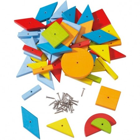 Haba Extra Geometric Shape Tack Set