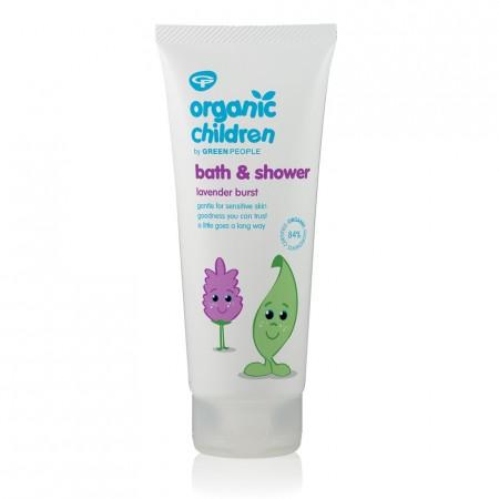 Organic Children Bath & Shower Gel Lavender Burst 200ml