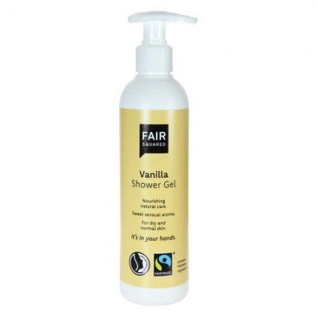 Fair Squared Fairtrade Vanilla Shower Gel 250ml