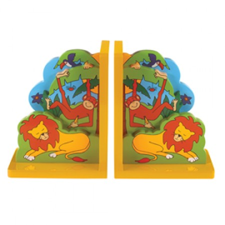 Fair Trade Jungle Fun Bookends
