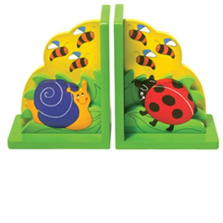 Fair Trade Minibeasts Bookends
