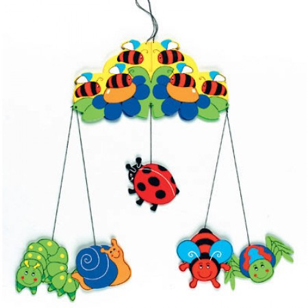 Fair Trade Minibeasts mobile