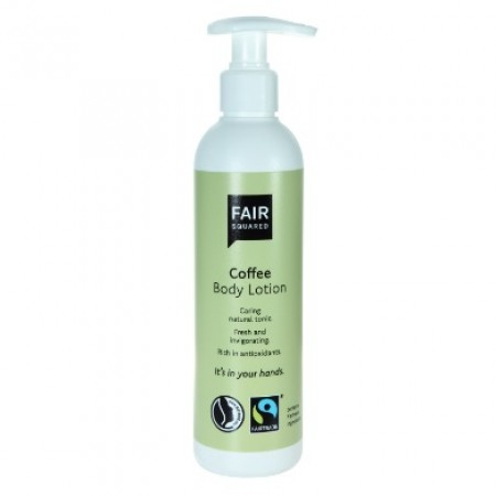 Fair Squared Fairtrade Coffee Body Lotion 250ml