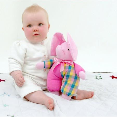 Cuddly Elephant - Pink