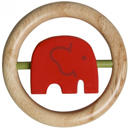 Franck Fischer Africa Red Turning Elephant Clutching Toy