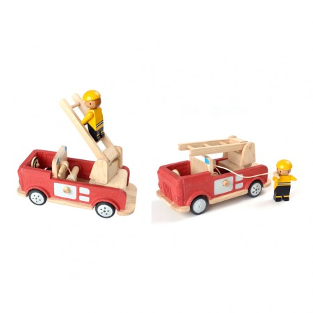 Plan Toys Fire Engine - Large