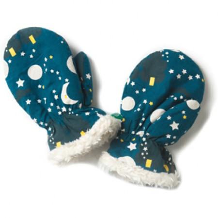 LGR Moon & Stars Sherpa Fleece Mittens