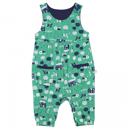 Frugi Countryside Friends Dungarees