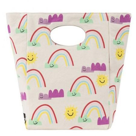 Fluf Classic Organic Lunch Bag - Rainbows