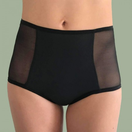 FLUX Hi-Waist Period Pants Full Absorbency - Black