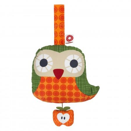 Franck Fischer Else Orange Musical Owl Pull