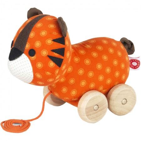Franck Fischer Thomas Tiger Pull Toy