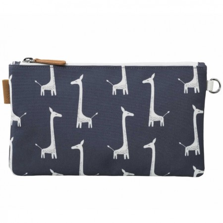 Fresk Toiletry Bag Indigo Giraffe