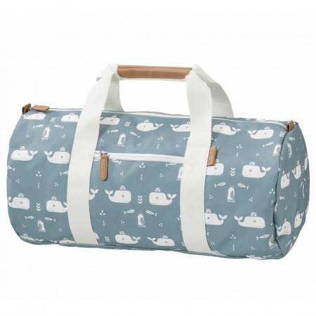 Fresk Weekend Bag Blue Whale