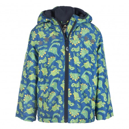 Frugi Green Dino Adventure Coat