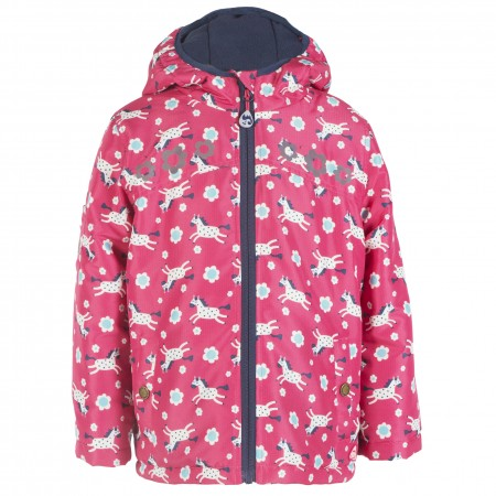 Frugi Daisy Horses Adventure Coat