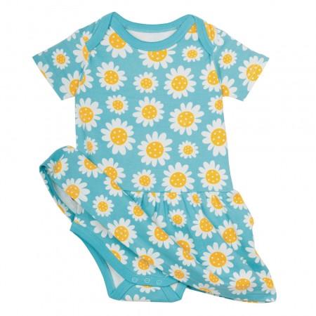 Frugi Aria Body Dress - Sunflowers