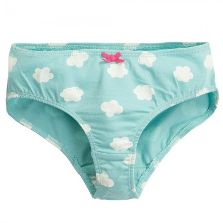 Frugi Blue Clouds Polly Printed Briefs
