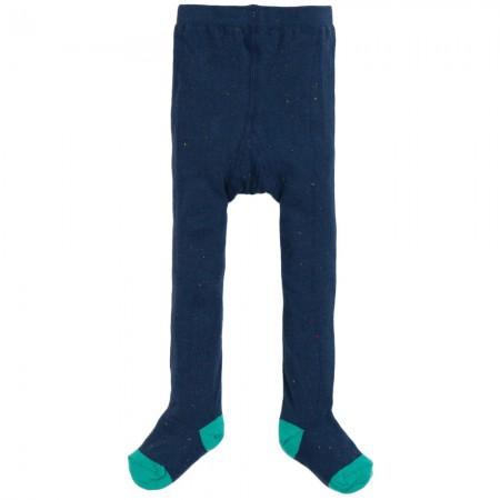 Frugi Blue Tamsyn Neppy Tights